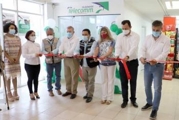 Instalan sucursales de Telecom en tiendas del ISSSTE