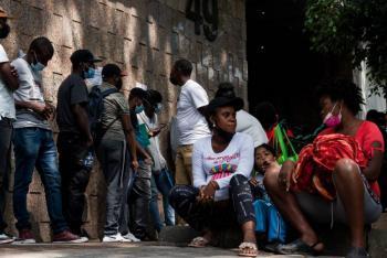 México insta a haitianos regresar a Chiapas a solicitar asilo