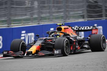 Por la lluvia, Checo Pérez pierde el podio y finaliza noveno en el GP de Rusia
