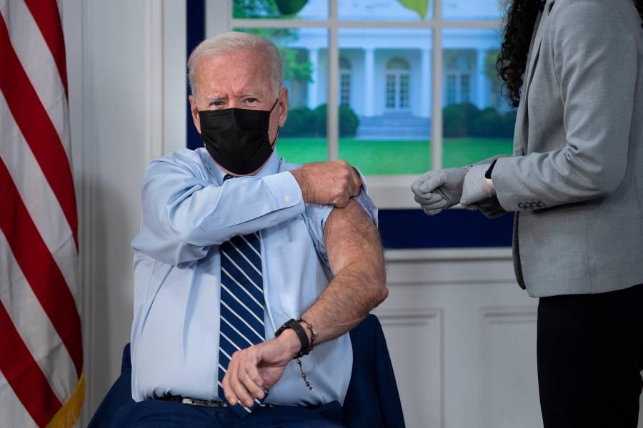 Biden recibe la tercera dosis contra el Covid-19