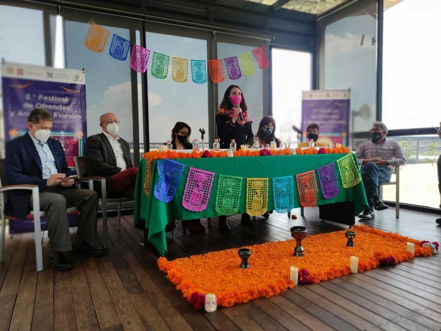 Ofrendas de Día de Muertos regresan al Centro Histórico de la CDMX