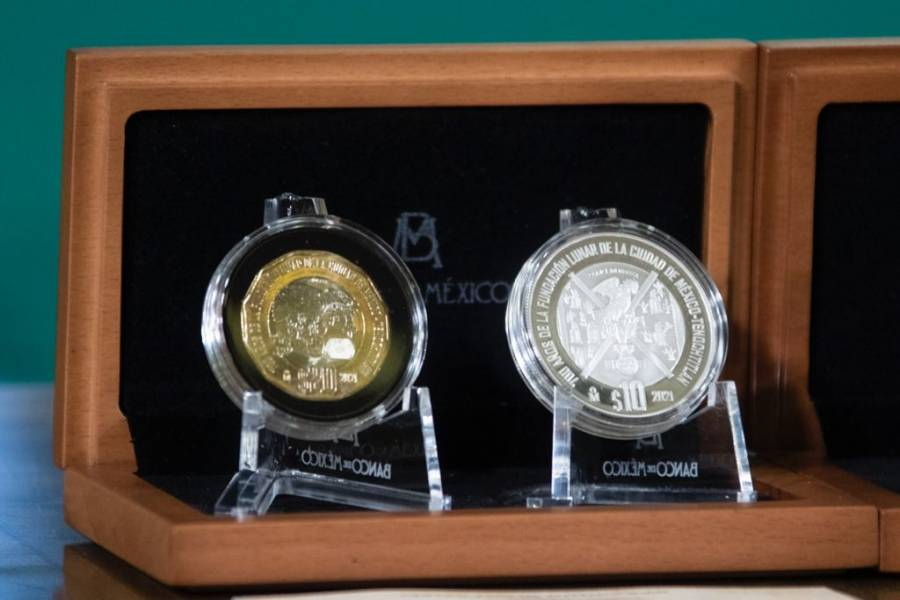 Banxico presenta 6 monedas conmemorativas de la Independencia