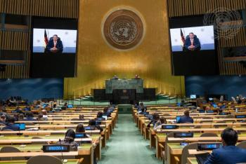 Concluye 76 Asamblea General de la ONU