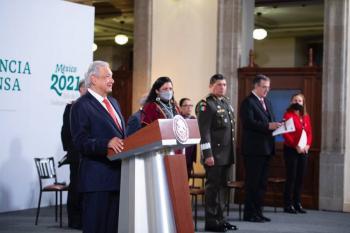 Presentan en mañanera programa de conmemoración por los 200 años de Independencia de México