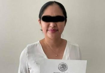 Dictan prisión preventiva contra diputada suplente de Morena detenida con armas