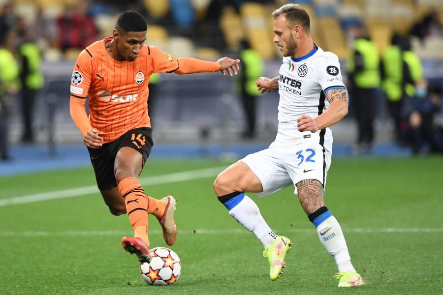 Shakhtar Donetsk e Inter se neutralizan en la Champions League