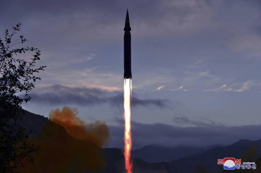 Corea del Norte dice haber probado un misil hipersónico