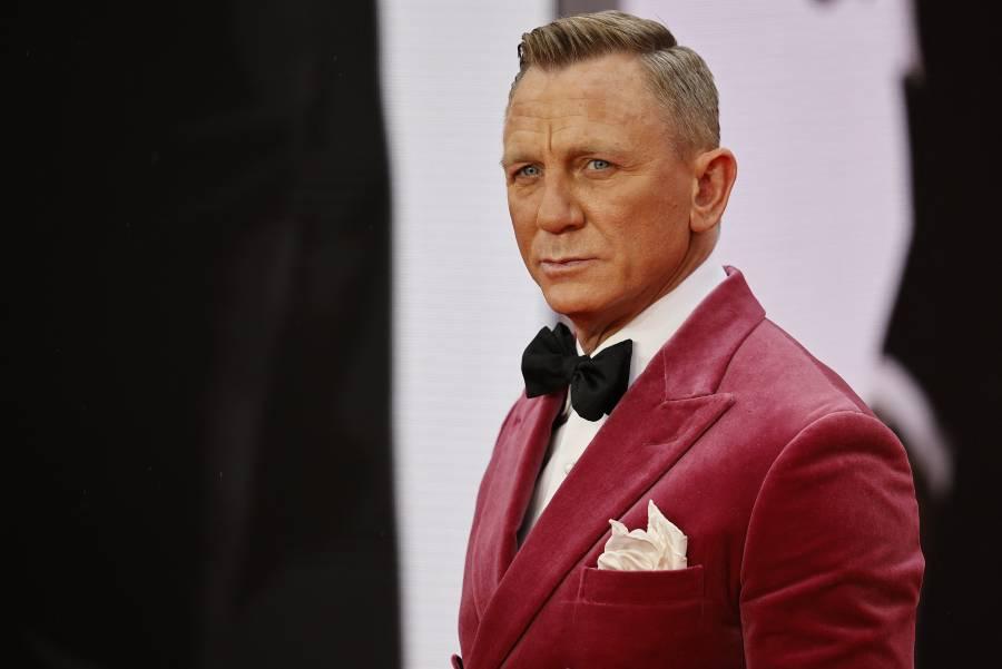 """Llega a Londres preestreno de """"Sin tiempo para morir"""", última cinta de Daniel Craig como James Bond"""