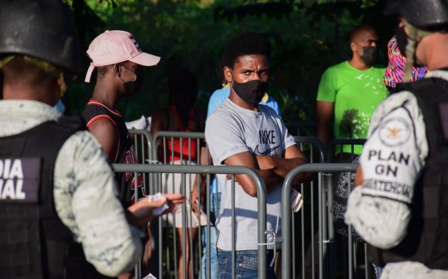 Habilita la Comar Estadio Olímpico de Tapachula para atender a migrantes
