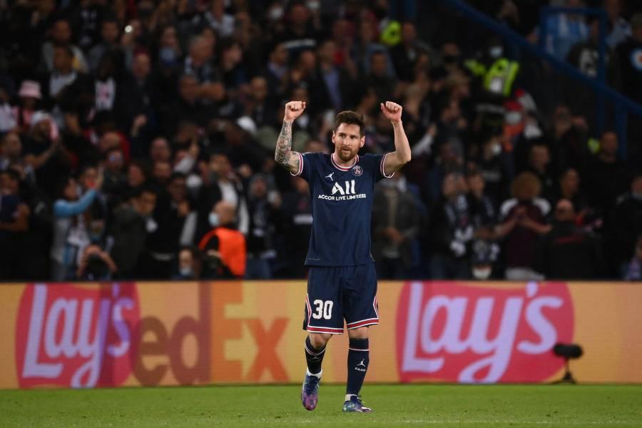 Messi marca su primer gol con el PSG y vence al Manchester City