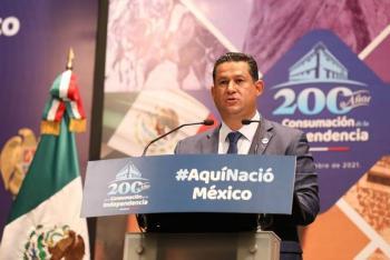 Guanajuato conmemora 200 Años de la consumación de la Independencia de México