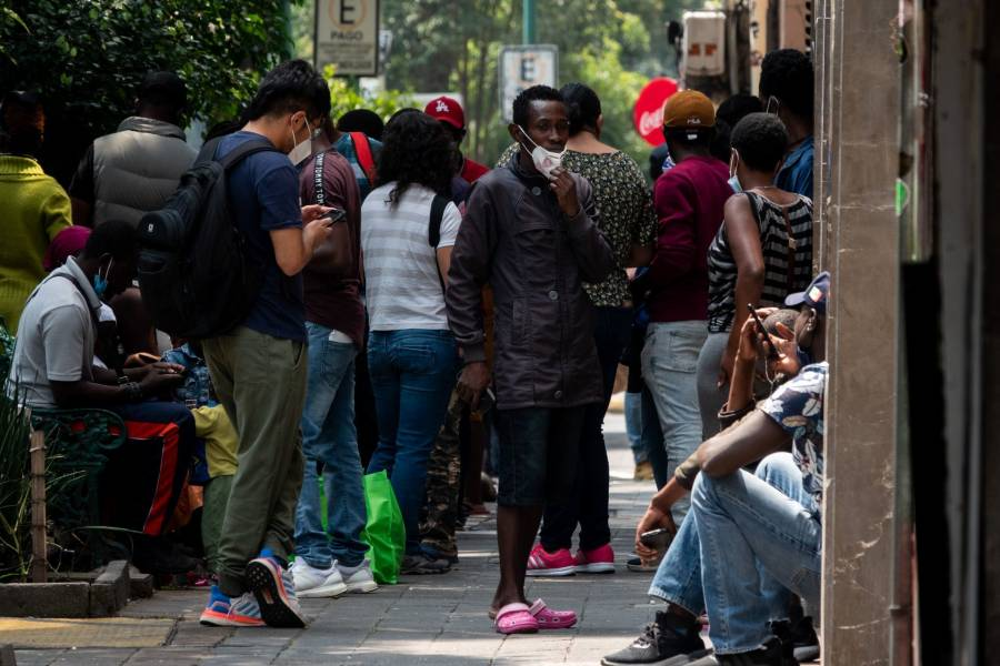 México reanuda vuelos de repatriación de migrantes haitianos