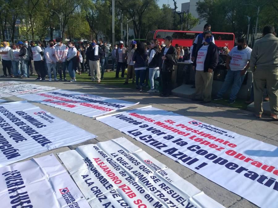 Demandan intervención de AMLO, SCJN y del Congreso de la Unión en caso Cruz Azul