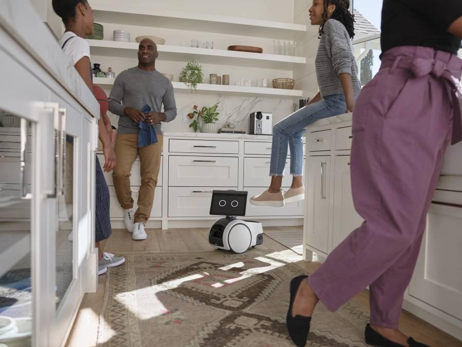 ¡Ya es posible! Amazon lanza robot patrulla para casas