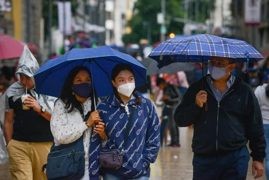 En 8 estados de la República, se pronostican fuertes lluvias