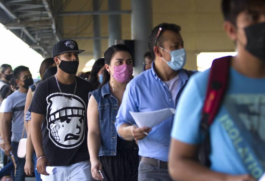 México registra casi 9 mil contagios más de Covid