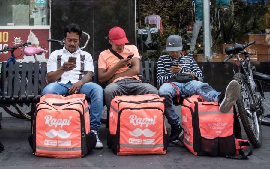 ¡Atención! Repartidores y choferes de Beat, DiDi, Rappi y Uber tendrán derecho al IMSS