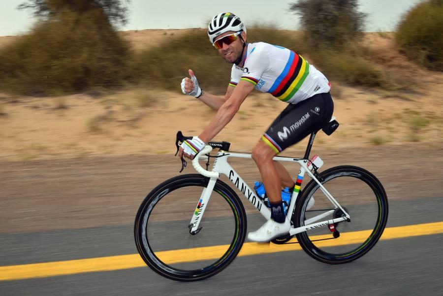 Alejandro Valverde triunfa en la Vuelta a Sicilia