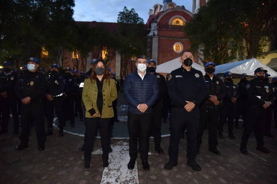 Mauricio Tabe inicia labores como alcalde de Miguel Hidalgo