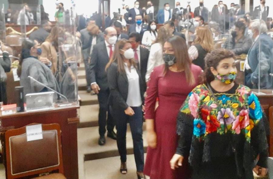 Alcaldes electos asumen cargo en el Congreso de la CDMX