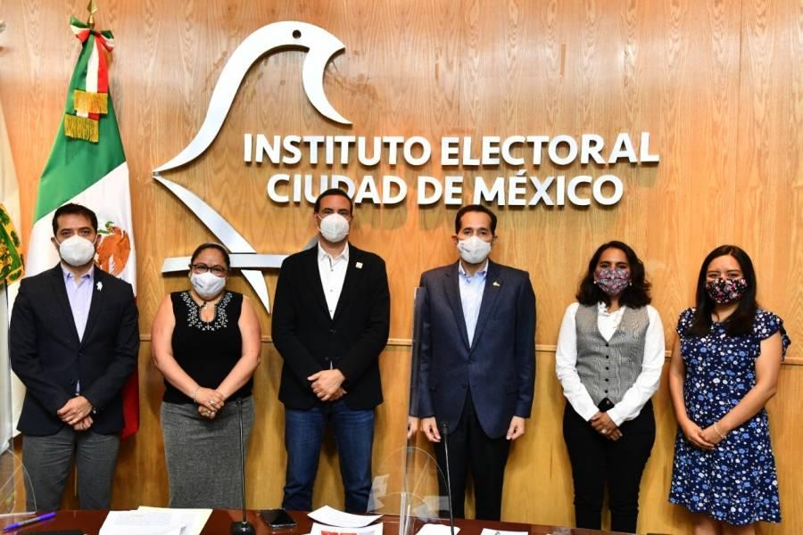 IECM designa a Bernardo Valle Monroy como presidente provisional