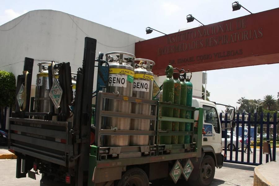 Controlan fuga de oxígeno en el INER; no hay reporte de daños