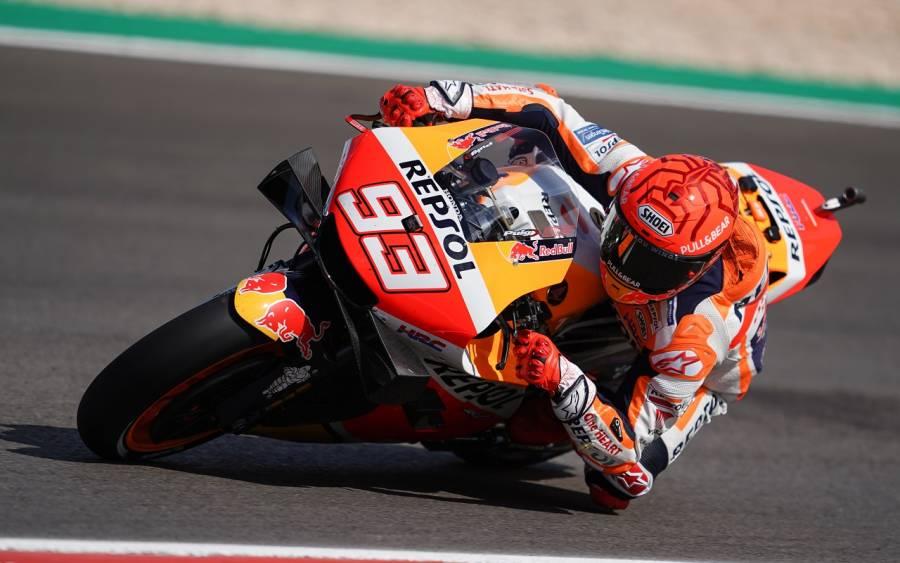 Marc Márquez triunfa por séptima vez en Texas, Quartararo cerca del título de MotoGP
