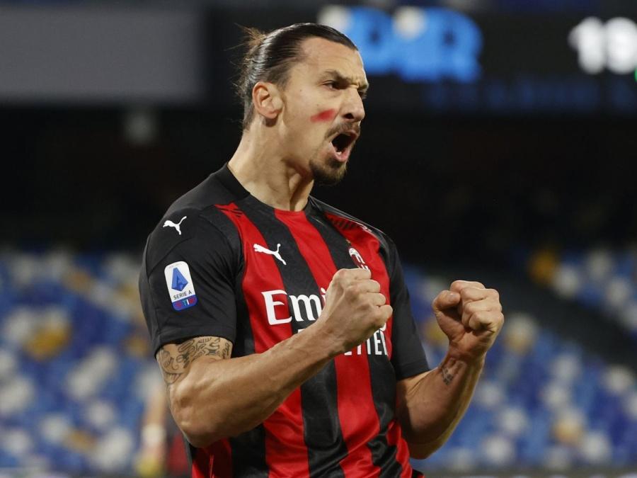 El delantero Zlatan Ibrahimovic, un goleador 'en cuarentena'