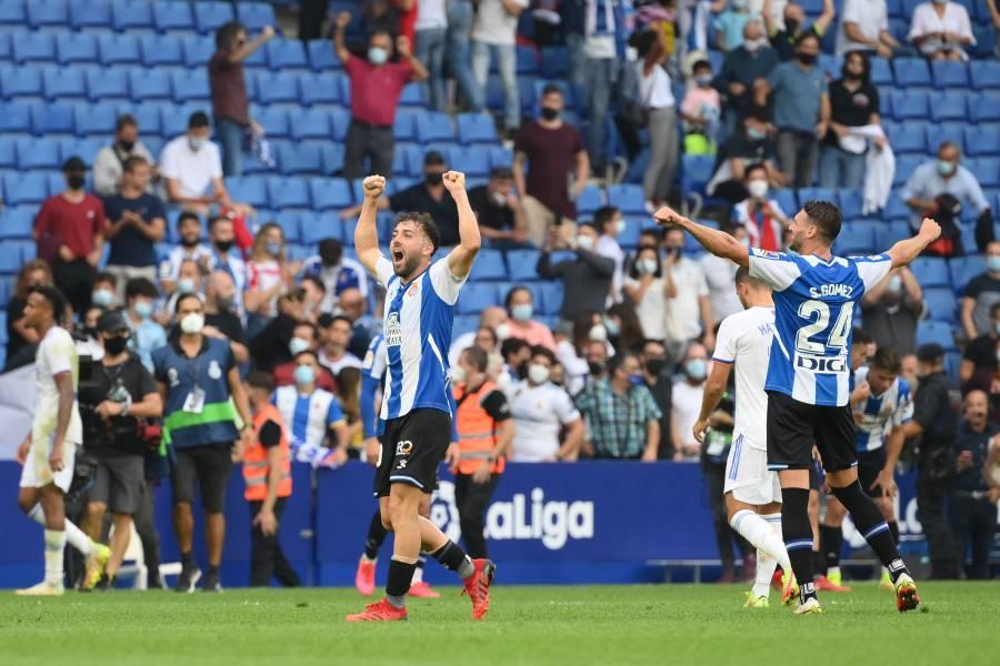 Espanyol propina al Real Madrid su primera derrota en LaLiga