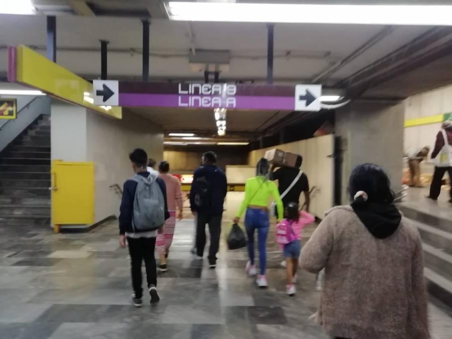 Historias en el Metro: Entre Banderas