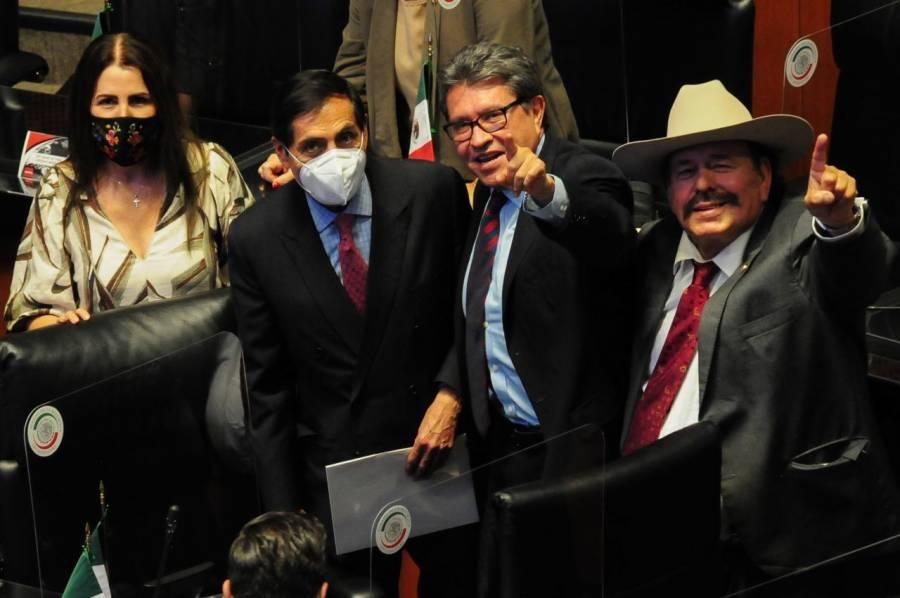 Advierte Monreal ruptura en Morena si se impone candidato presidencial en 2024