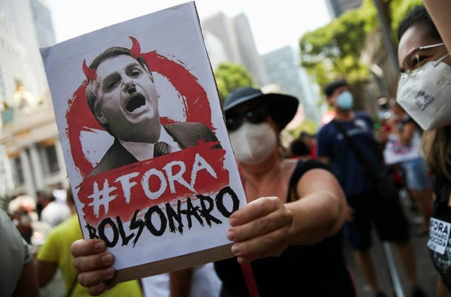 Protestas en Brasil para pedir la destitución de Bolsonaro