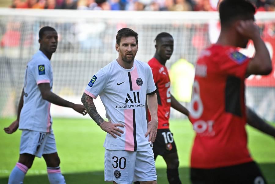 Con Messi, Neymar y Mbappé, el PSG cae ante el Rennes en la Ligue 1