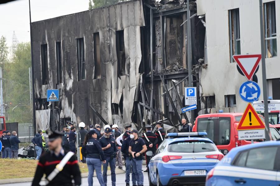 Accidente de avión cerca de Milán deja ocho muertos