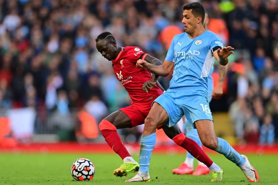 En vibrante duelo, Liverpool y Manchester City firman el empate