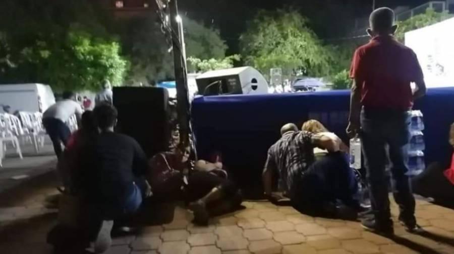 VIDEO: Comando armado irrumpe festival en Iguala, Guerrero; hay dos heridos