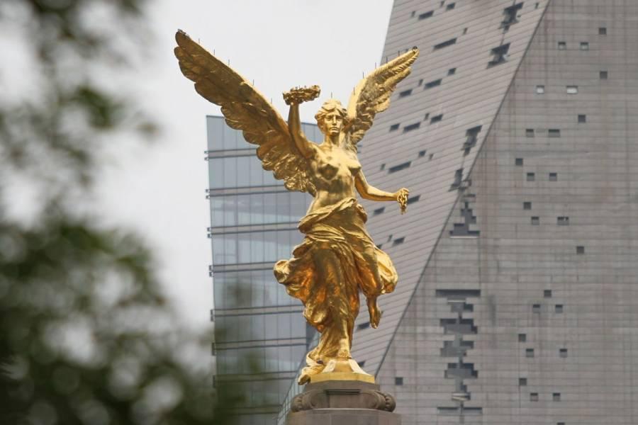 ¡Por fin! Retiran vallas metálicas del Ángel de la Independencia