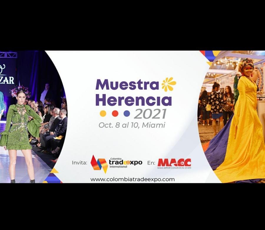 """Colombia presenta Carnaval de Barranquilla en """"Muestra Herencia 2021"""" en Miami"""