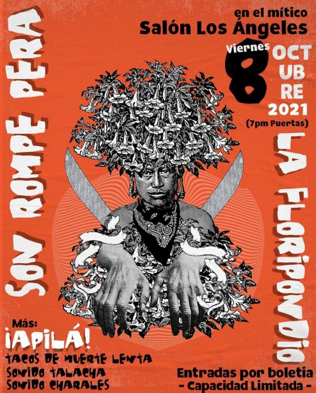 Tras gira en EUA, Son Rompe Pera alista concierto en el Salón Los Ángeles, México