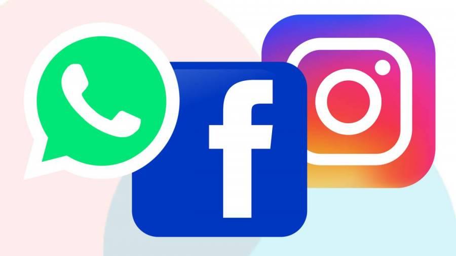 """""""Error"""" de mantenimiento provocó caída de Facebook, Instagram y WhatsApp"""