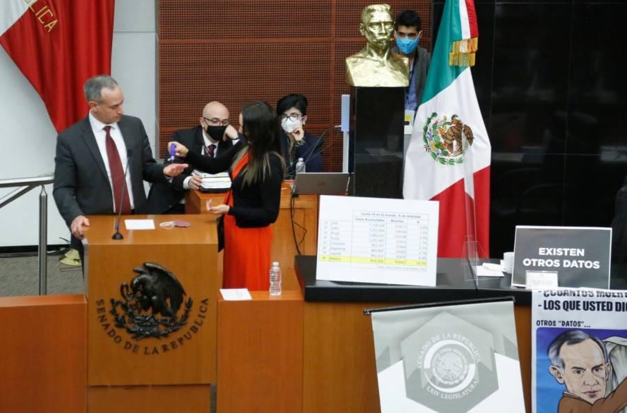 Rechaza PRI que López-Gatell reciba la Belisario Domínguez a nombre del SNS