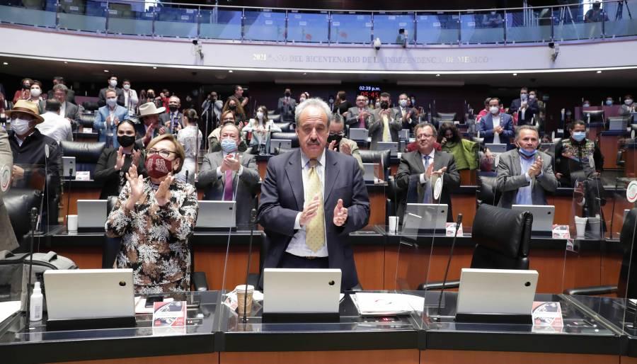 Aprueba Senado modificar comisiones ordinarias en la Cámara de Diputados