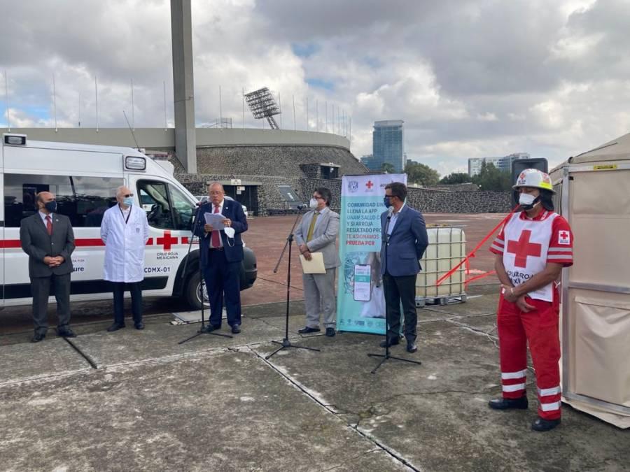 Comunidad universitaria podrá realizarse pruebas Covid en Estadio Olímpico