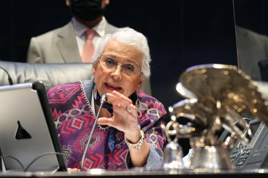 Piden respetar investidura presidencial; no sería irrespetuosa, responde Lilly Téllez