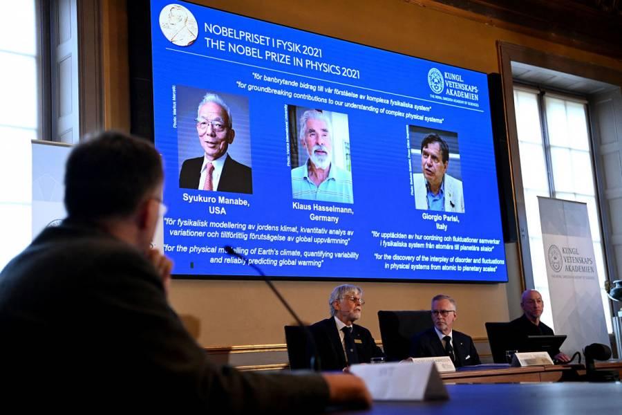 Nobel de Física 2021 premia a científicos por estudios del clima y el calentamiento global