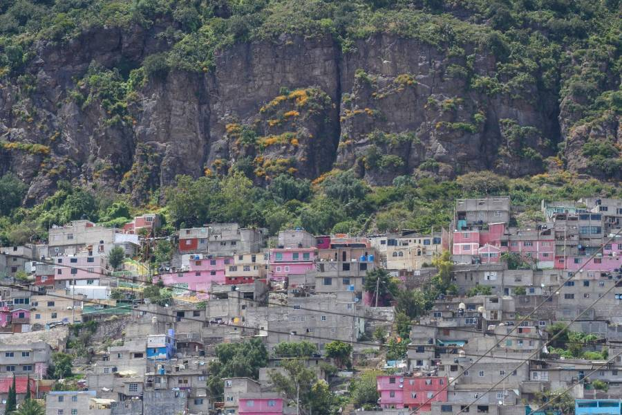 Se derribaron 11 casas en el Cerro del Chiquihuite; terminan demoliciones