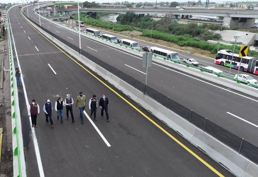 Inaugura Del Mazo autopista que conectará con el Aeropuerto Felipe Ángeles