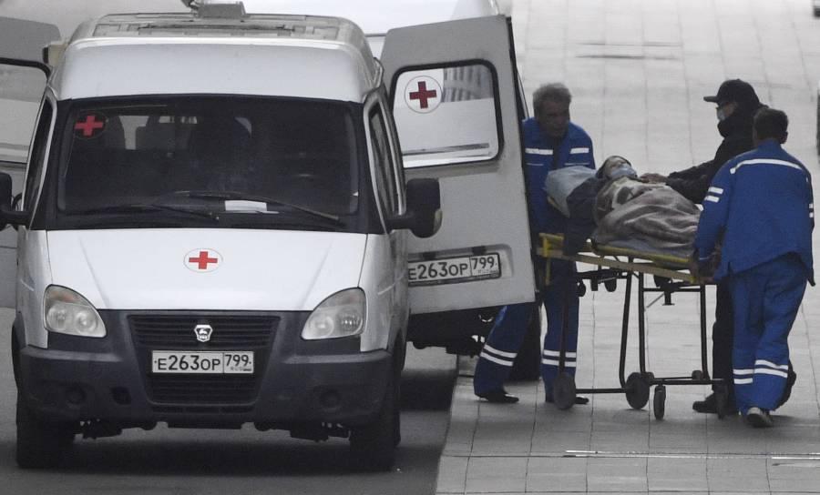 Rusia registra por primera vez más de 900 muertos por Covid-19 en 24 horas