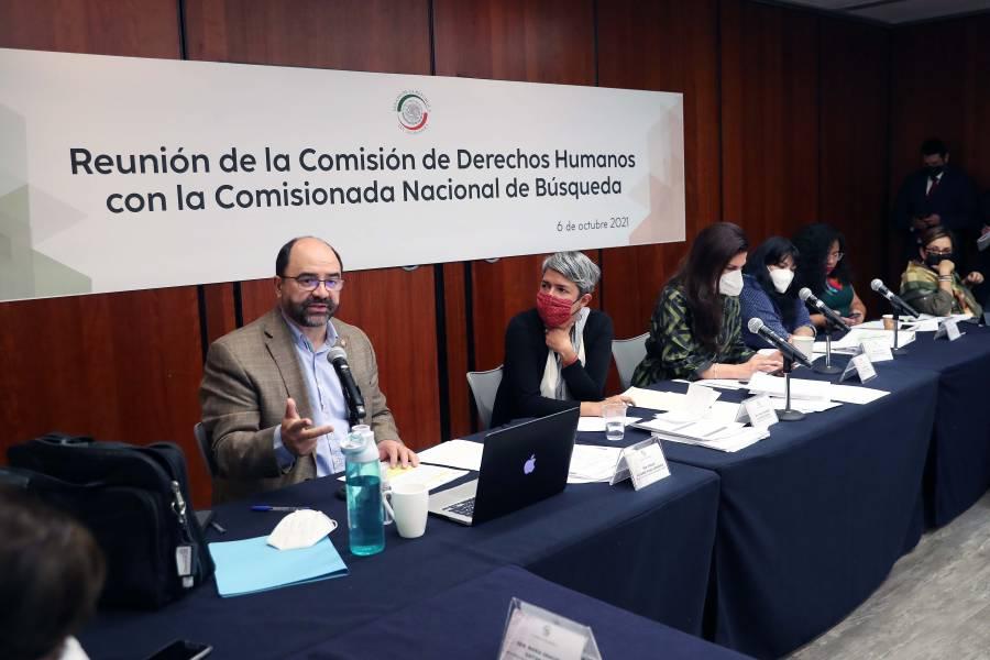 Revisan en el Senado las acciones para atender crisis de desaparecidos en México