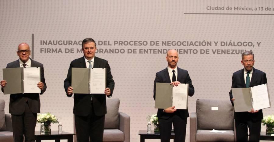 El 15 de octubre, cuarta ronda del diálogo de Venezuela en México